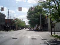 Spring Street at Bank Street, New Albany, IN